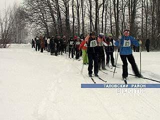 50 учителей приняли участие в лыжных соревнованиях