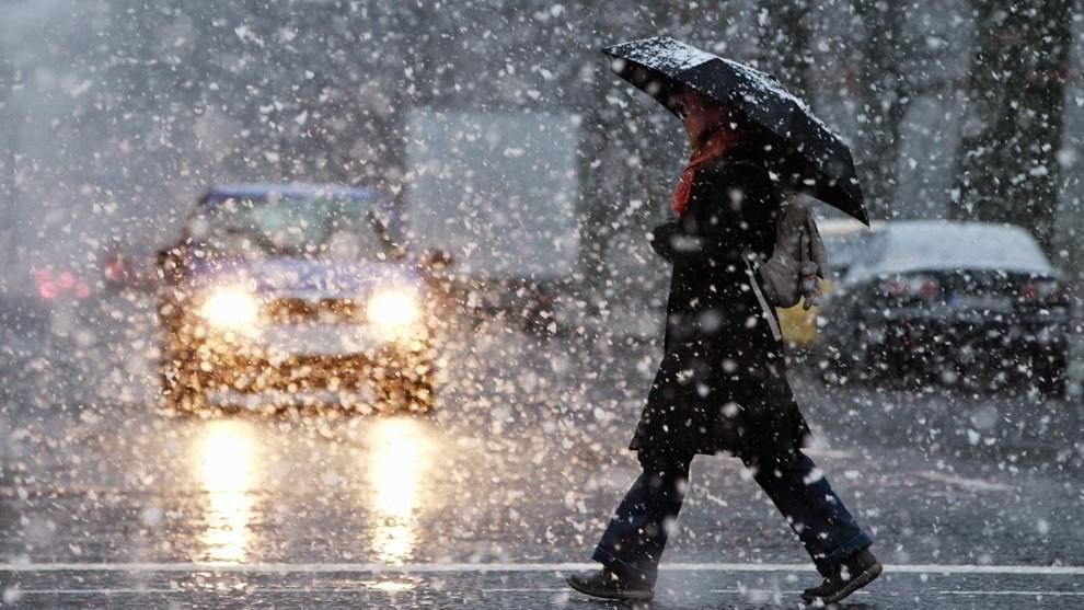 Всреду вРязанской области ожидаются дождь имокрый снег