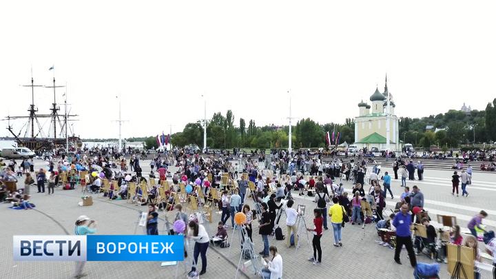 Массовый пленэр «Талантливый Воронеж» попал вКнигу рекордов Российской Федерации