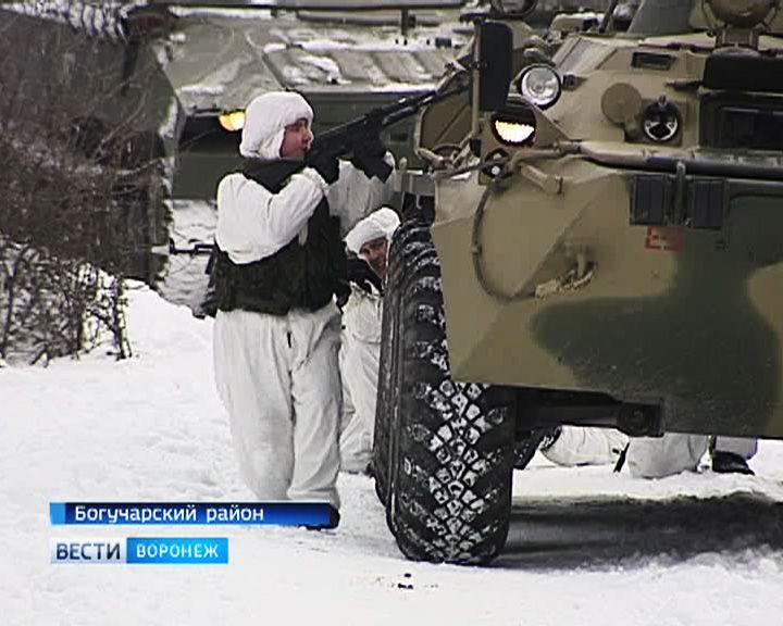 Инженерно-сапёрные войска ЗВО провели учения на полигоне под Богучаром