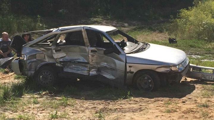 На трассе в Воронежской области столкнулись «ВАЗ» и Honda: погибли 2 пенсионера