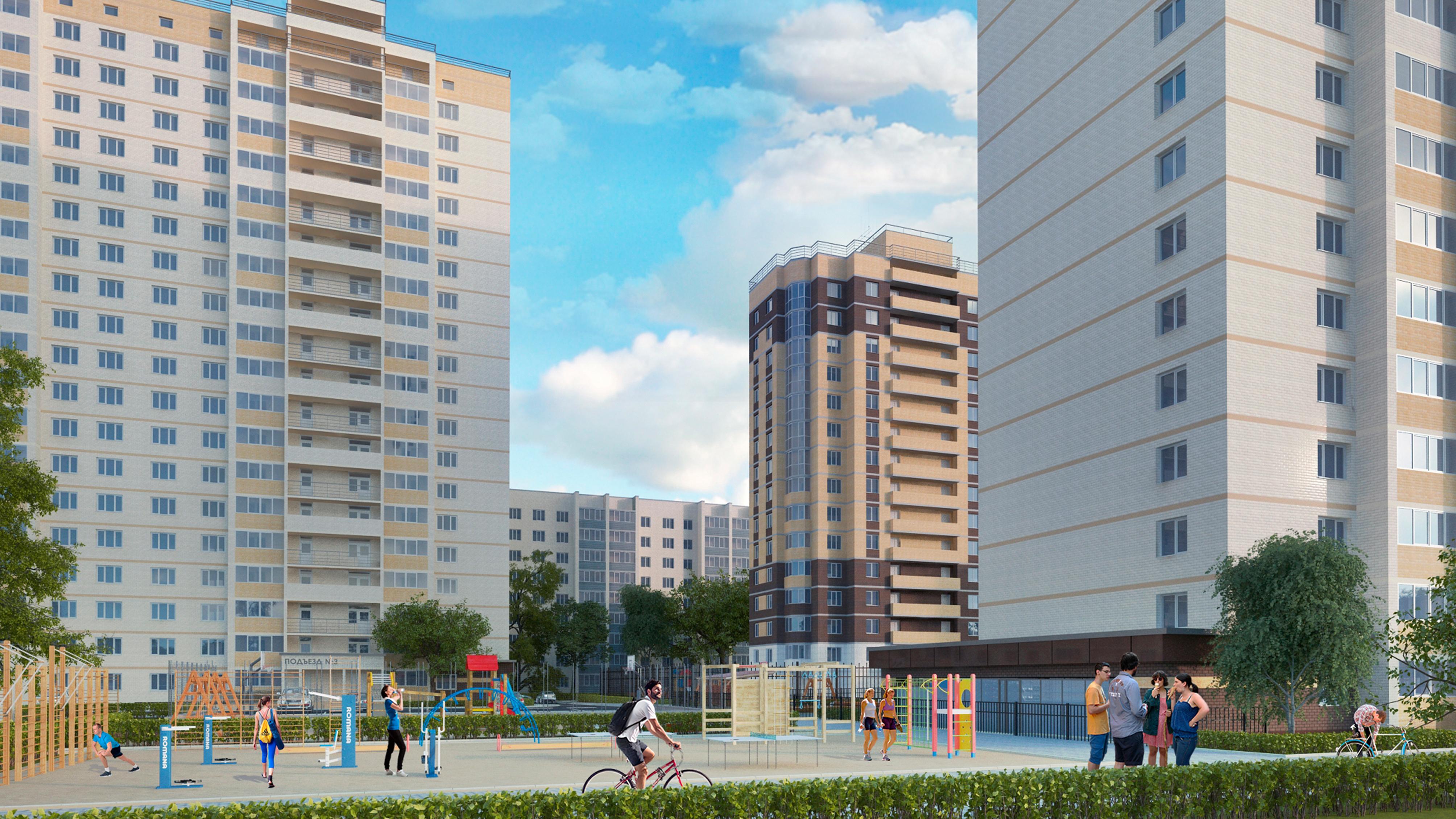 В Воронеже показали проект застройки квартала в Коминтерновском районе