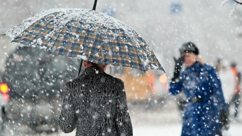МЧС предупредило жителей Воронежской области о мокром снеге и гололёде