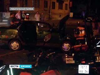 6 человек, в том числе один ребёнок - попали в больницу из-за аварии в центре Воронежа