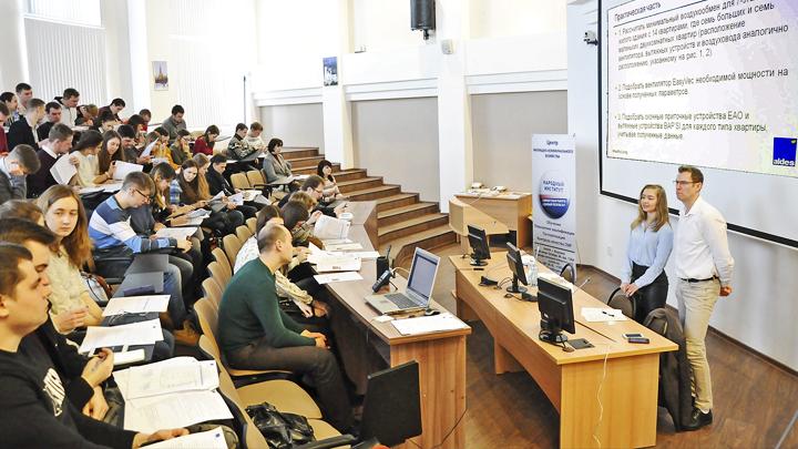 Эксперты из Франции рассказали студентам Воронежского опорного университета о принципах вентиляции домов