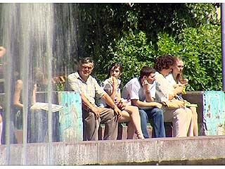 7 июня 2008 года войдет в историю: в Воронеж пришло лето