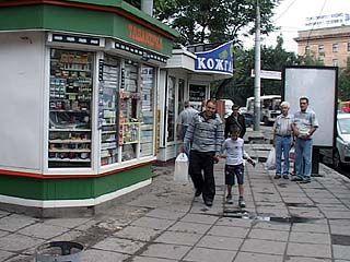 70 улиц Воронежа очистят от павильонов