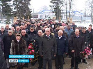 72-ю годовщину  Россошанско-Острогожской операции отметили в Подгоренском