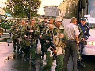 77 воронежских милиционеров вернулись из Ачхой-Мартана