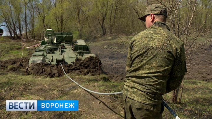 В реке Дон под Острогожском нашли американский танк времён Великой Отечественной войны