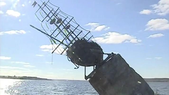 Памятник фрегату «Меркурий» уберут с водохранилища