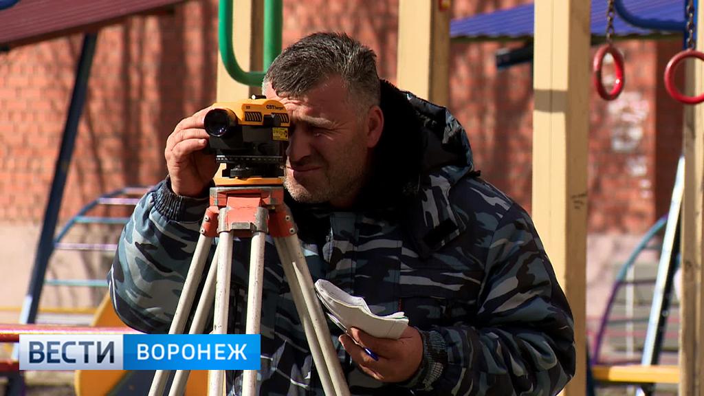 В Воронеже стартовало масштабное благоустройство дворов