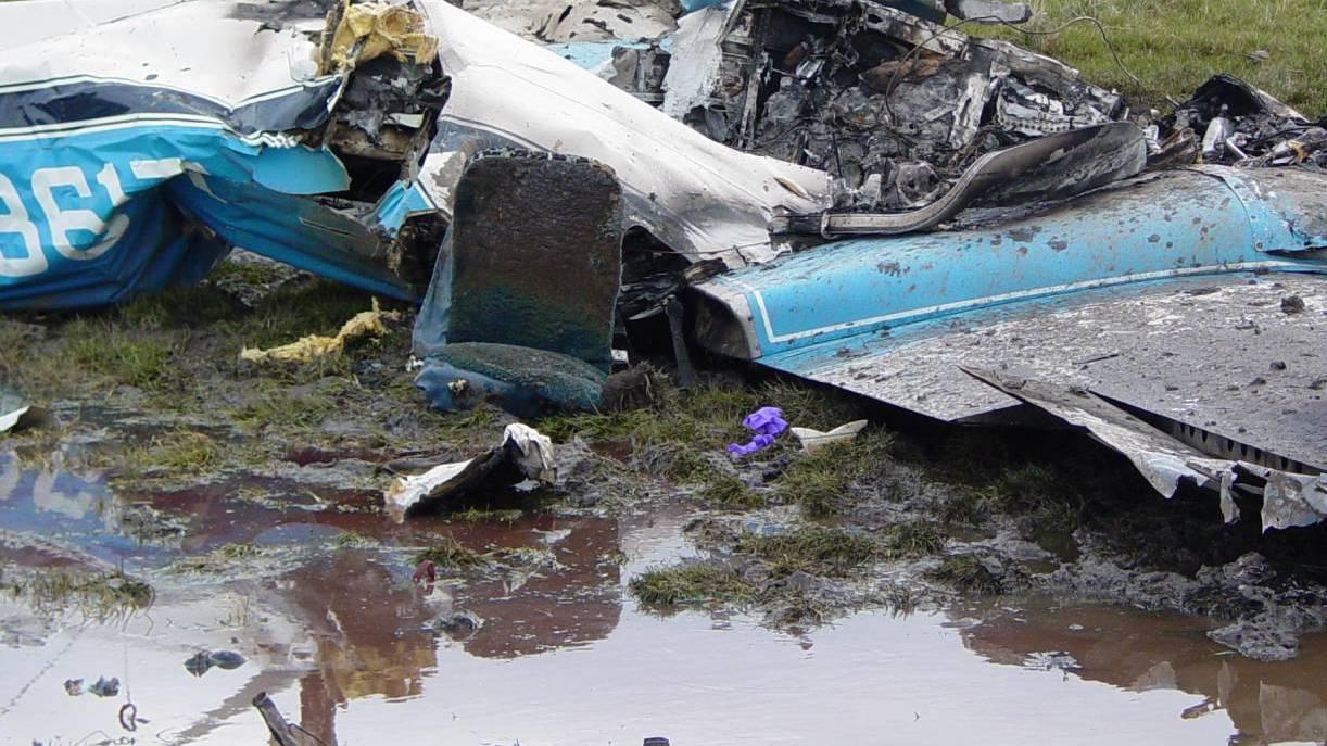 Врачи рассказали о состоянии лётчиков упавшего в Воронежской области Як-130