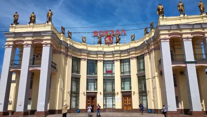 Увокзала «Воронеж-1» обнаружился заколдованный сквер