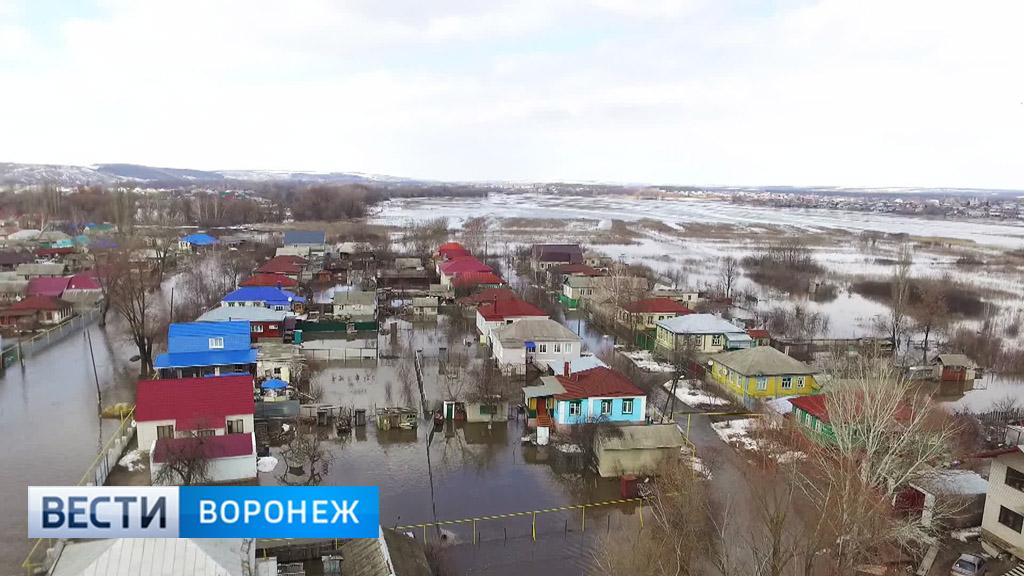 МЧС предупредило о возможном ухудшении паводковой ситуации в Воронежской области