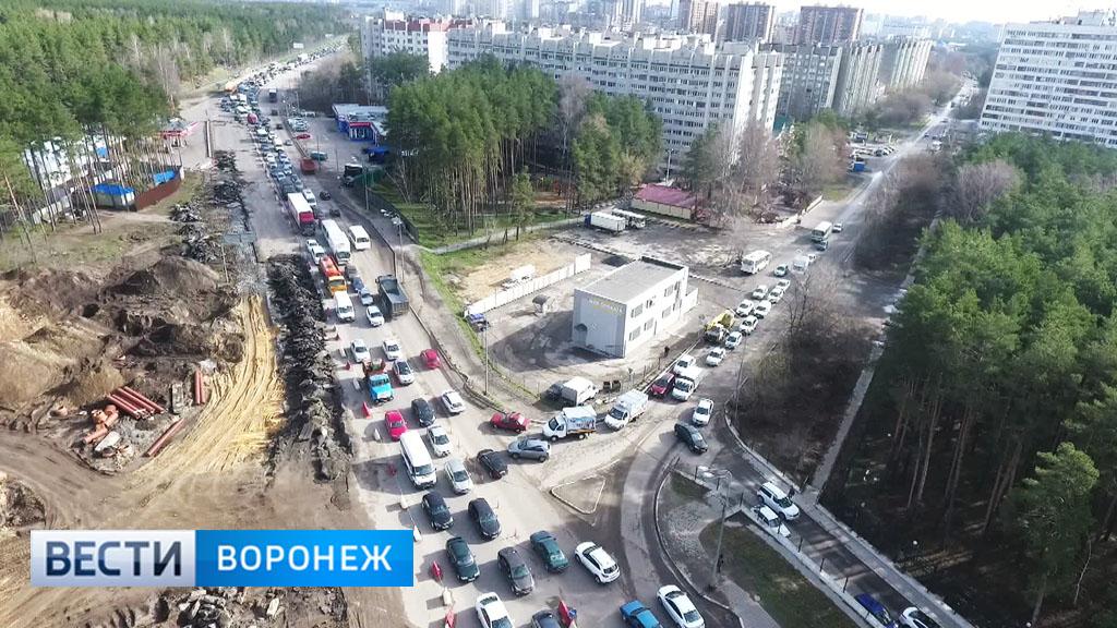 В Воронеже ограничение движения на окружной снимут не раньше середины июля