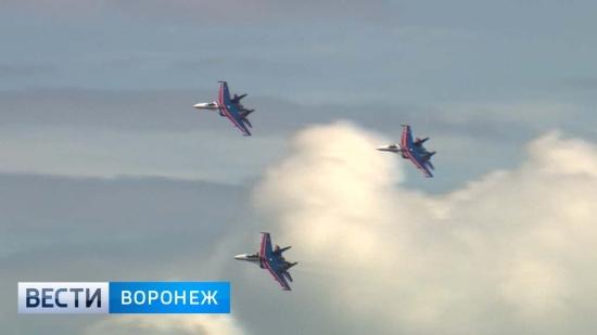 Воронежцы увидят авиационное шоу над Адмиралтейской площадью