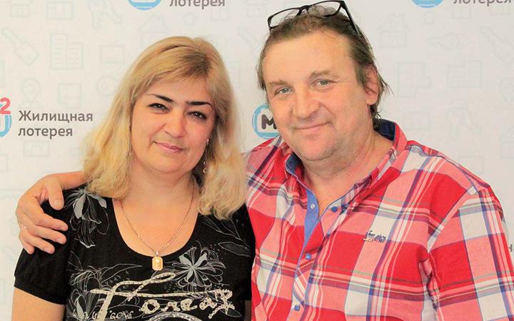 Супружеская пара из Воронежа выиграла в лотерею квартиру