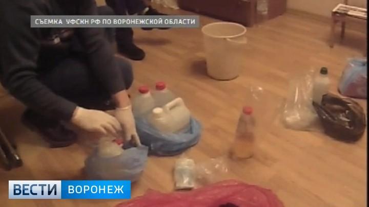 В Воронеже экс-полицейский получил 11 лет за производство амфетамина рядом с Госнаркоконтролем