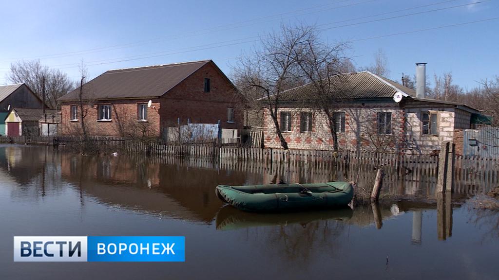 В Воронежской области затопило 11 населённых пунктов