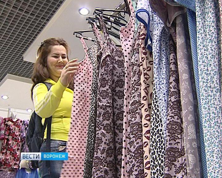 Воронежцы могут выбрать прекрасные подарки к 8 марта на выставке-ярмарке текстиля