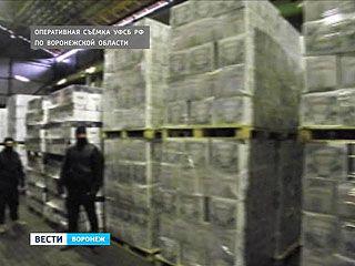 90 тонн фальсифицированного алкоголя обнаружено на одном из складов Воронежа