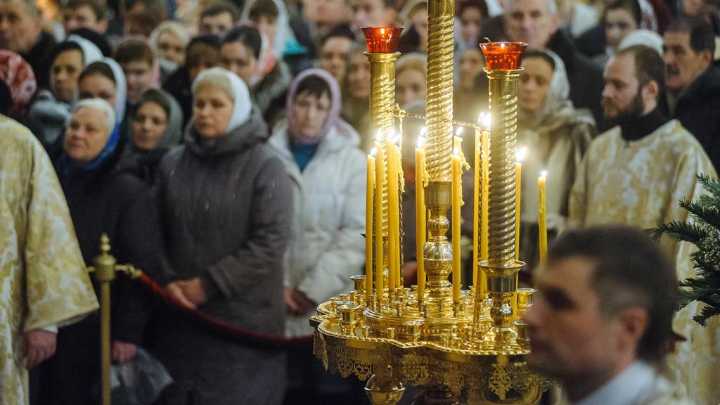 Более 57 тыс. жителей Воронежа и области приняли участие в Рождественских богослужениях