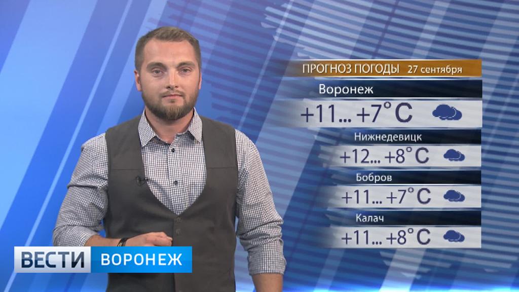 Прогноз погоды с Ильёй Савчуком на 27.09.17
