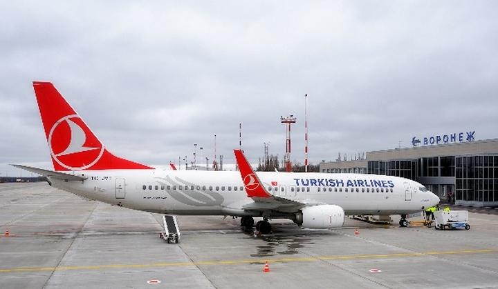 Turkish Airlines откроет регулярные рейсы между Воронежем и Антальей