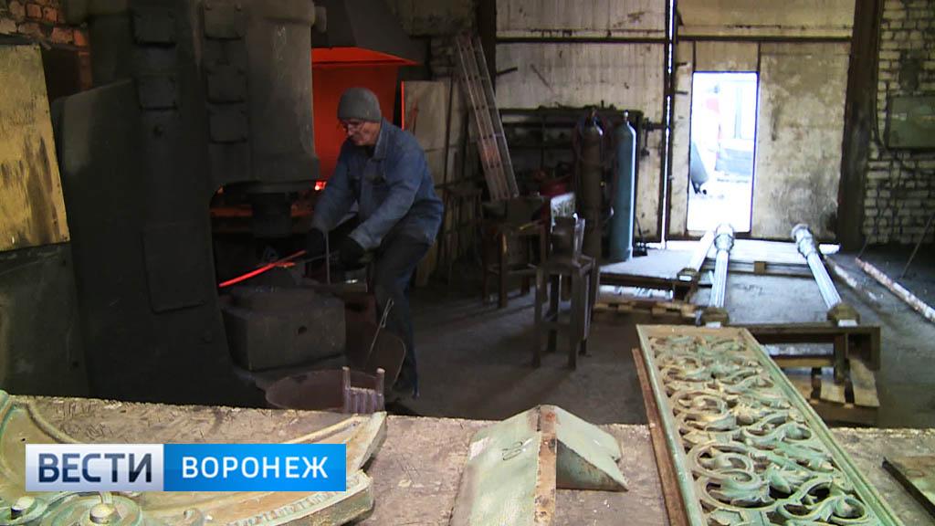 Демонтированный со здания начала ХХ века в Воронеже навес оказался подлинным