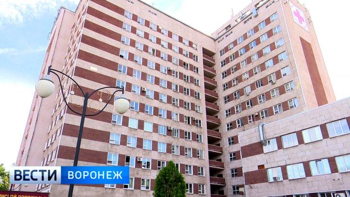 В клинике Воронежа нетрезвый больной воткнул ножницы влицо медсестры