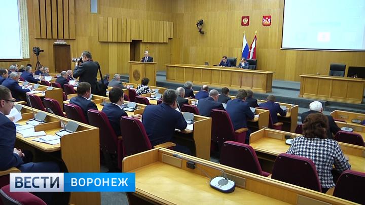 Как депутаты Воронежской областной Думы закрыли осеннюю сессию