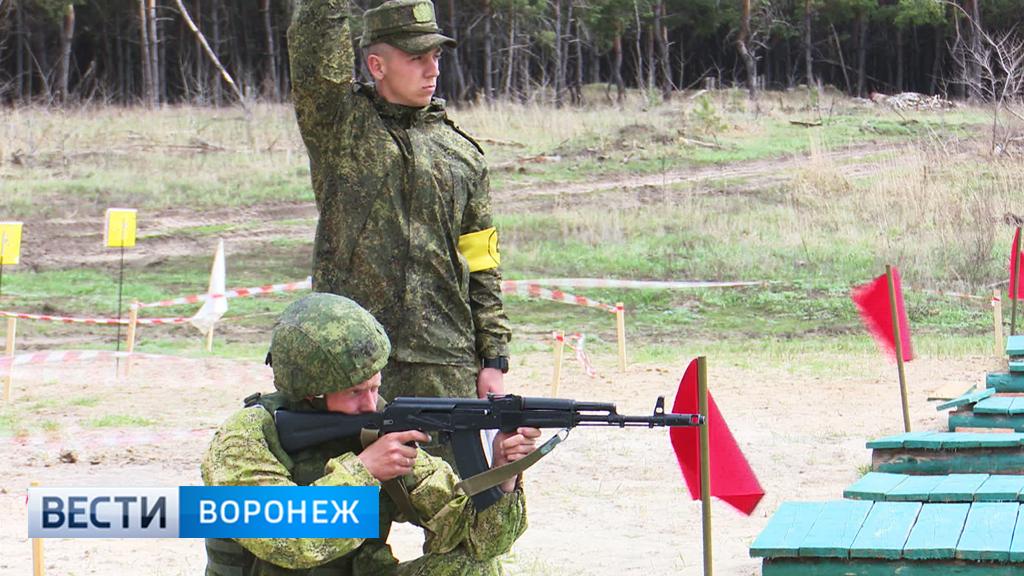 Под Воронежем прошёл этап конкурса профмастерства военных полицейских