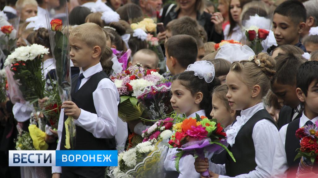 Участники акции «Дети вместо цветов» в Воронежской области собрали 240 тыс. рублей