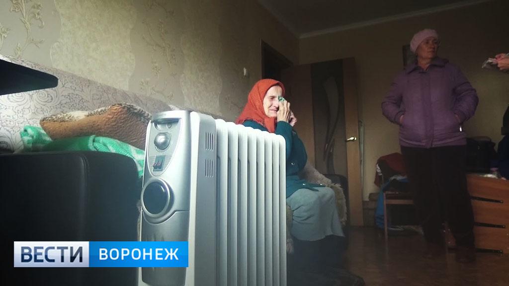 Жильцы многоэтажного дома в Павловске мёрзнут из-за капремонта
