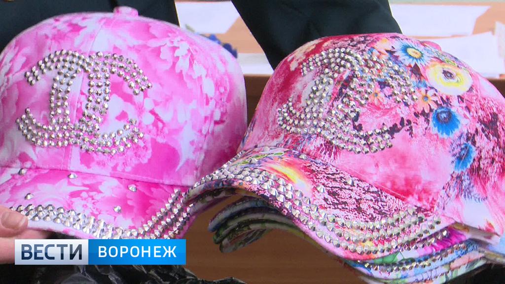 Изъятые на воронежском рынке кепки нанесли 1,5-миллионный ущерб компании «Шанель»