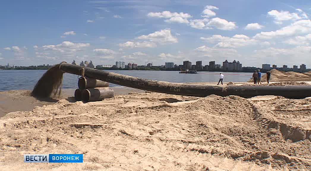 К осени со дна Воронежского водохранилища поднимут 274 тыс кубометров грунта