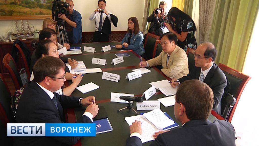 Воронежская область и Китай наладят сотрудничество в сферах сельского хозяйства и туризма