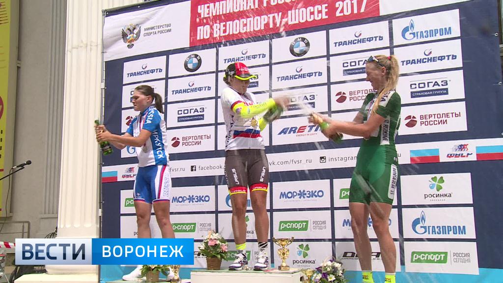 Лучшие велогонщики страны боролись за награды в Нововоронеже