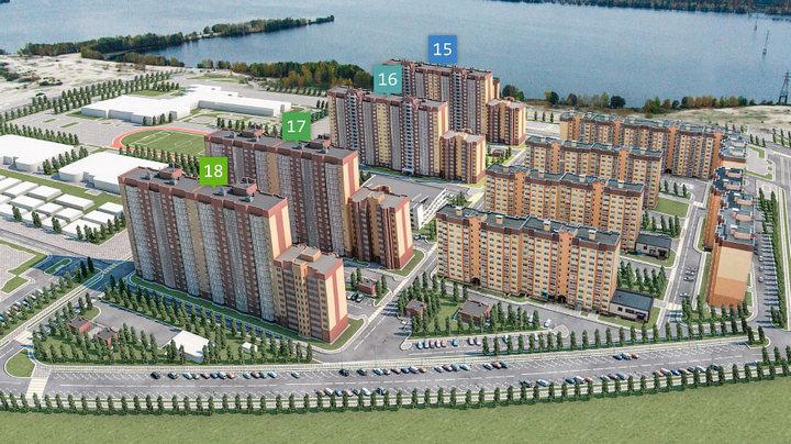В Воронеже представили проект застройки намывной территории в Железнодорожном районе