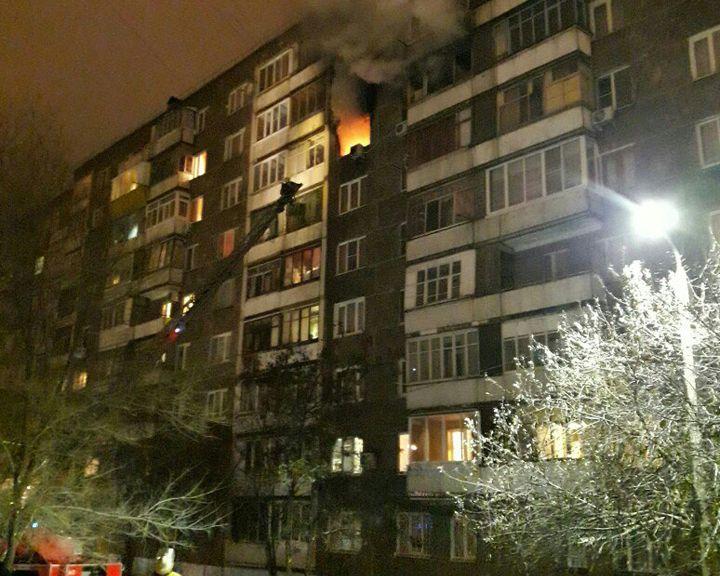 В Воронеже 20 человек эвакуировали из-за пожара в жилом доме
