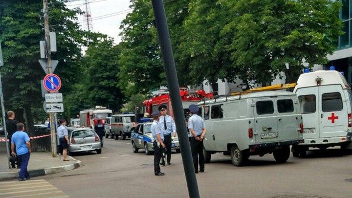 В Воронеже эвакуировали бизнес-центр из-за сообщения о заминировании