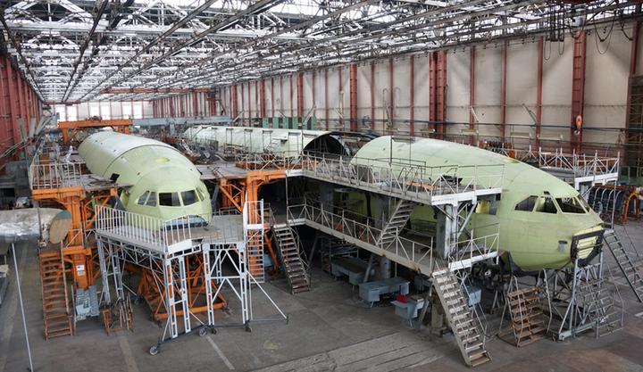 Воронежский авиазавод реконструирует производство под новые самолеты
