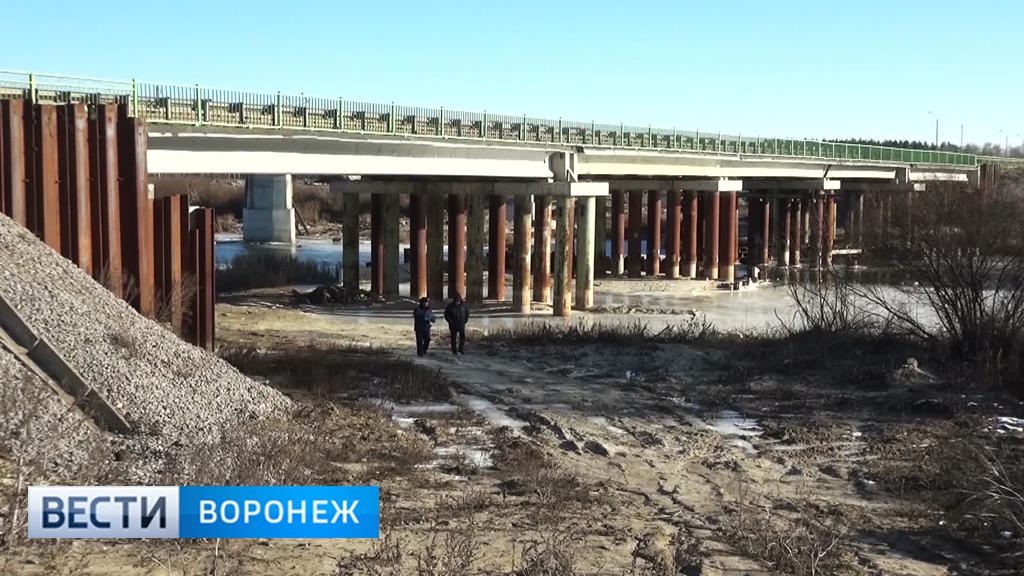 «Чернозёмуправтодор» намерен расторгнуть контракт с воронежской компанией по капремонту моста через Хопёр