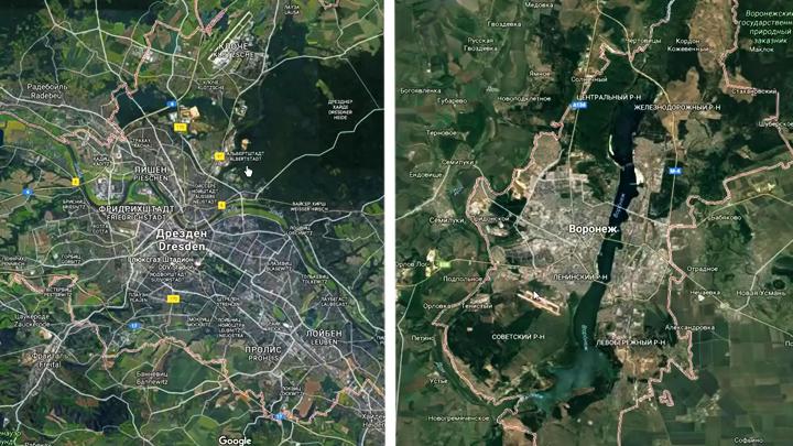 Блогер сравнил виды Воронежа в 2016 году с улицами Дрездена 2008 года