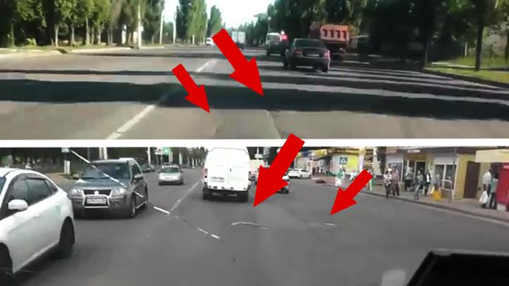 Автоледи-блогер: «Не жалуйтесь на дороги в своем городе, в Воронеже ещё хуже»
