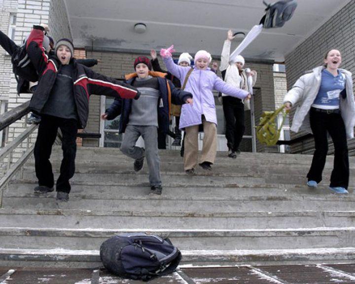 Все школы Воронежа уходят на досрочные каникулы