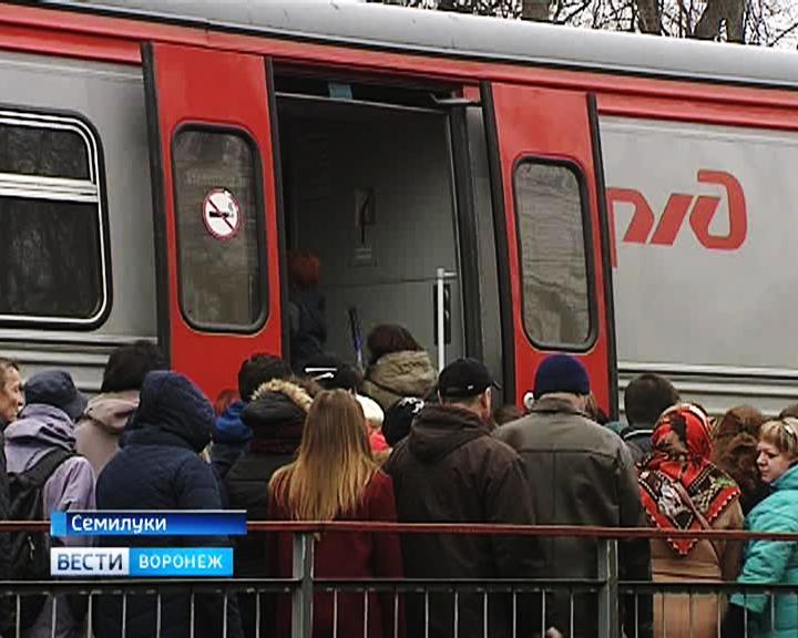 Из-за ремонта развязки на 9 Января электричка «Семилуки – Воронеж» будет ходить по новому расписанию