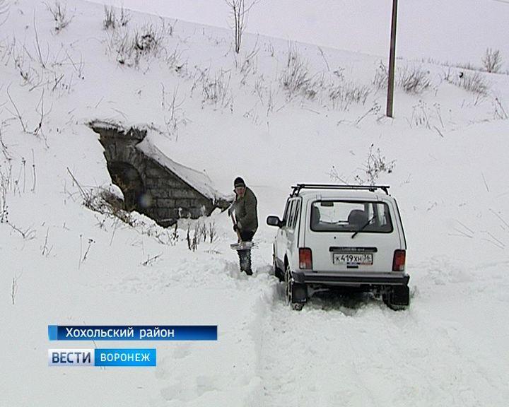 Журналисты и волонтёры спасли дачника, который 18 дней провёл в снежном плену под Воронежем
