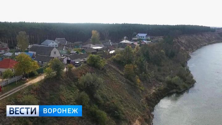 Воронежские власти нашли подрядчика для укрепления берега Дона в районе Павловска